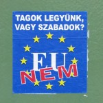 EU nee!' / Boedapest