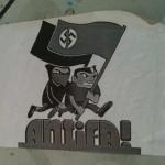 sticker 'Antifa'