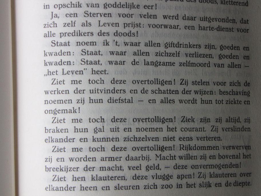 Citaten Nietzsche : Van de nieuwe afgod citaten nietzsche over staat