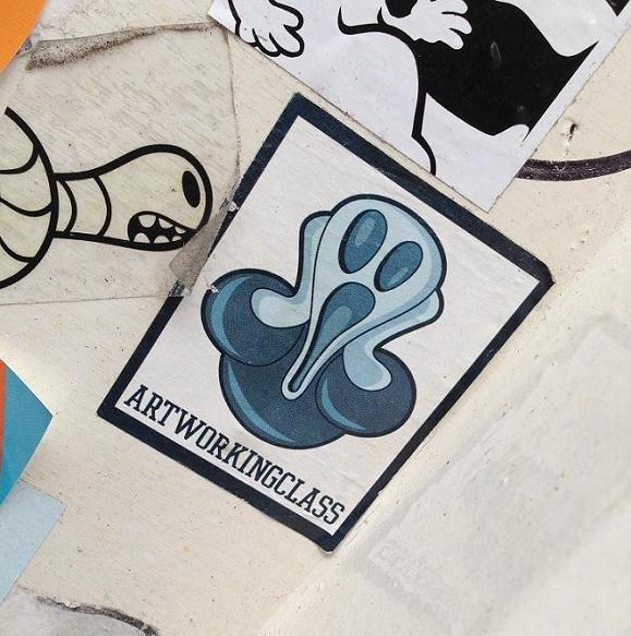 sticker Artworkingclass Munch Amsterdam