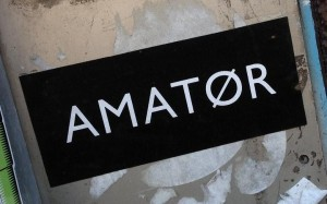 sticker amator Amsterdam 2013