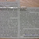 ingezonden brief rekeningrijden Parool 2009