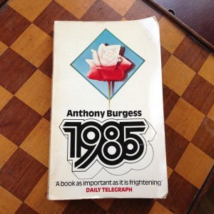 1985 Anthony Burgess book picture boek