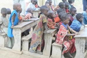 Masai scholieren