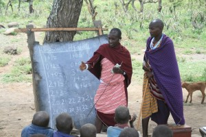 masai math teacher