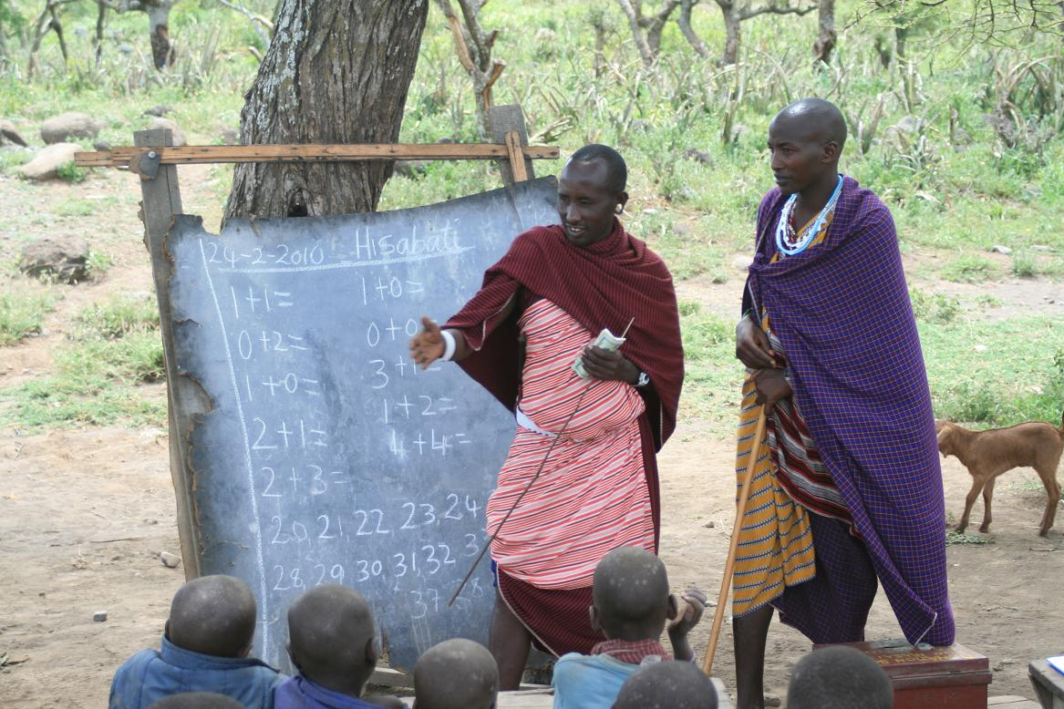 masai math teacher