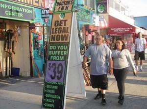 medical marijuana Venice Beach 'short list'