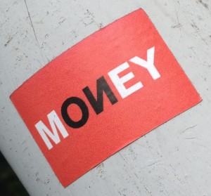 sticker money Amsterdam Amsterdamse Brug 2014 Juni