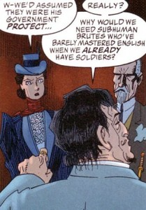 'The league of exraordinary gentlemen' quote soldiers