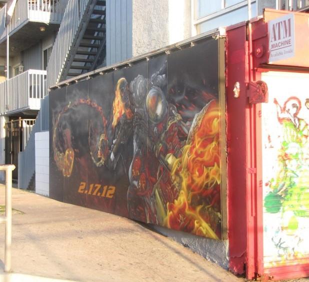 waal-painting Hellrider Venice Beach