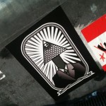 sticker 'illuminati pyramid eye'