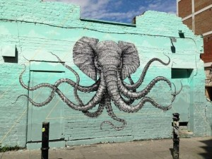 elephant squid London photo by Frederick I.