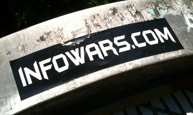 sticker 'infowars'