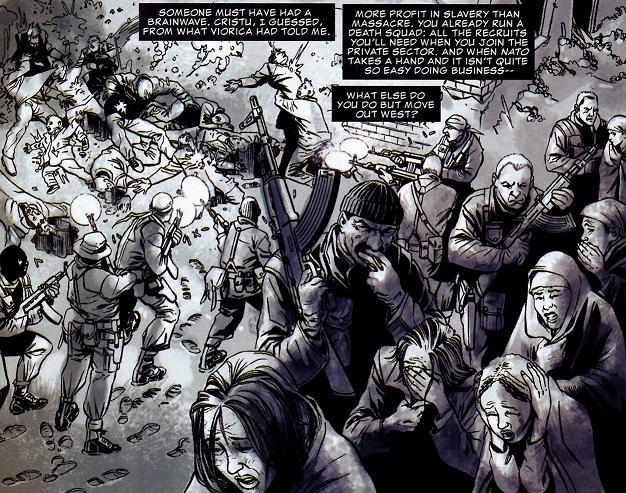 - stripboek 'The Slavers' gaat over vrouwenhandel op de Balkan -