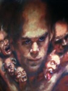 dexter demon painting devilish