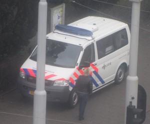 politiebus Amsterdam police bus the Netherlands