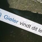 ~geurvlag van 'Gieler' ~