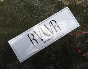 sticker RVLVR Amsterdam