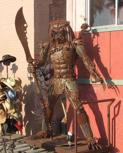 large metal predator Venice Beach