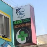 'Zuurstof-bar' Venice Beach, Los Angeles, oxygen bar