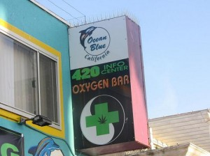 'Zuurstof-bar' Venice Beach, Los Angeles, oxygen bar