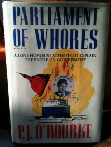 P. J. O'Rourke 'Parliament of whores' cover