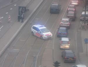 politie-achtervolging Amsterdam Zuid