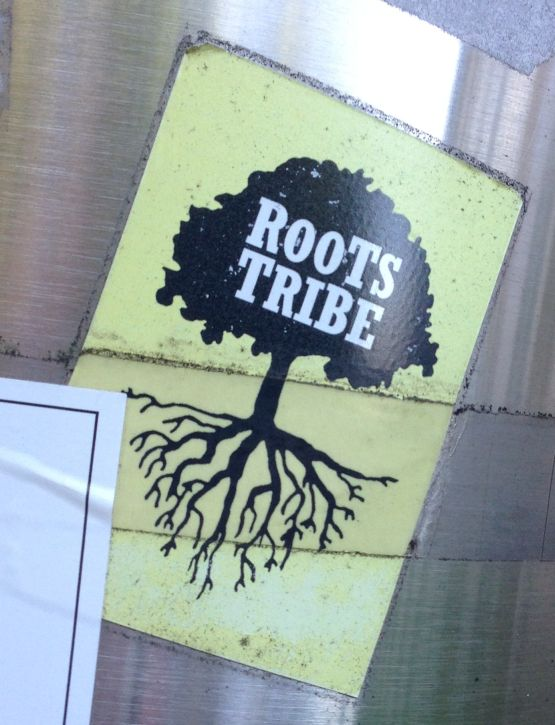 sticker Roots Tribe Amsterdam North 2013 September