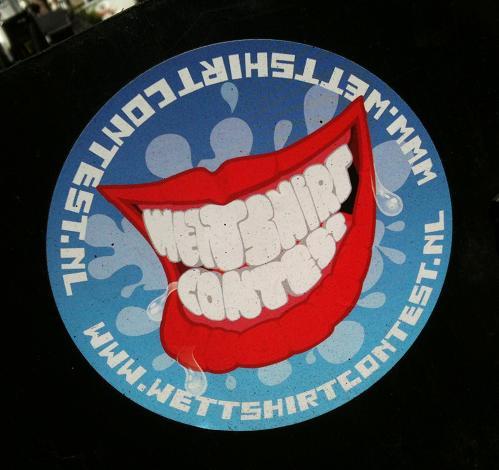sticker 'wet-t-shirt-contest.nl'