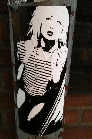 street art 'hoertje'