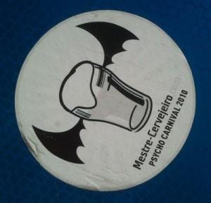 Sticker 'psycho carnival' Mestre Cervejeiro