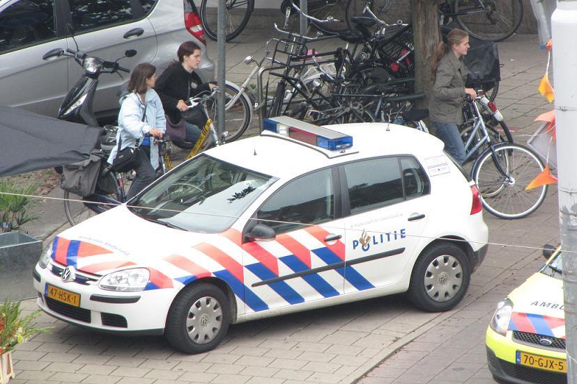 politieauto Amsterdam Zuid