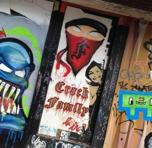 graffiti crack family Amsterdam Spui