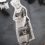 sticker Hero de Janeiro vrouw radio Amsterdam