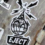 sticker ejectos eject Amsterdam