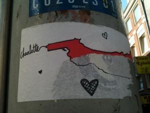 sticker gun  Charlotte Amsterdam