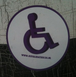 sticker 'revalidatie 020'