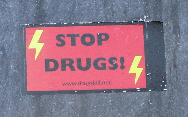 sticker stop drugs Baltics