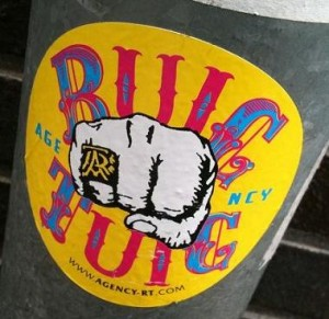 'Ruig-tuig' sticker