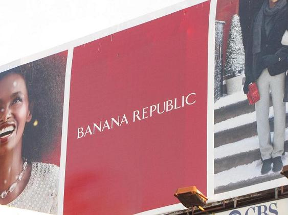 reclame Banana Republic Los Angeles