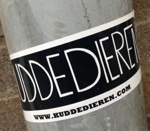 sticker Kuddedieren Amsterdam 2013