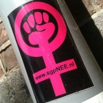 sticker 'www.sgpNEE.nl'