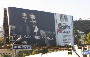 Ketel 1 reclame Gentlemen this is vodka reclame Los Angeles 2011 2012