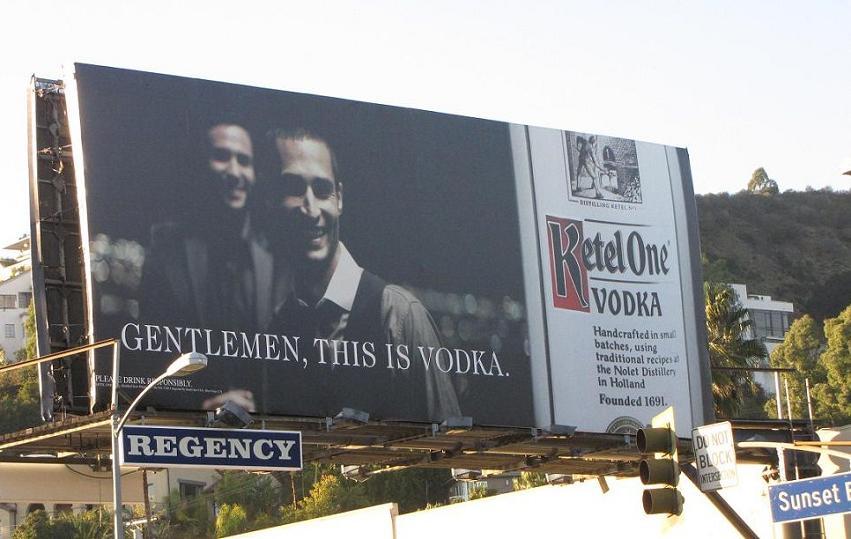 Ketel 1 reclame Gentlemen this is vodka reclame Los Angeles 2011 2012