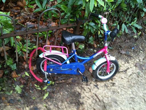 fietsje Vondelpark