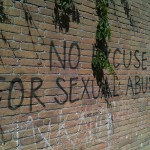 Graffiti 'no excuse for sexual abuse - patriarchy'