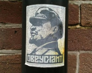 Sticker Obey Giant 'Lenin'