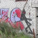 Talinn, 'joint graffiti'