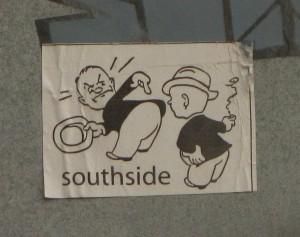 sticker south side Baltics 2012
