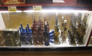 alcohol weapon booze counter supermarket USA